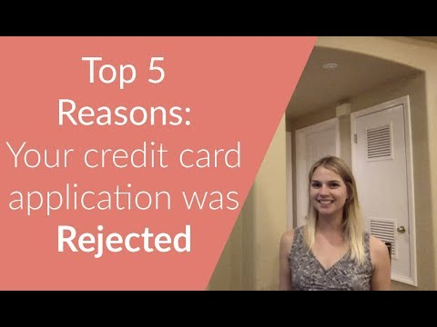 Why was my credit card application denied? How to go from denial to approval